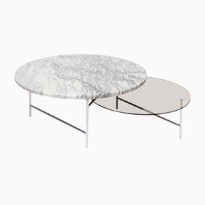 Tavolino da caffè Zorro in marmo di Note Design Studio per La Chance