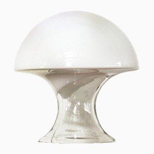 Lampada da tavolo a fungo in vetro di Murano di Gino Vistosi, anni '70