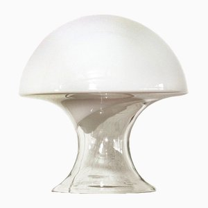 Tischlampe aus Muranoglas in Pilz-Optik von Gino Vistosi, 1970er
