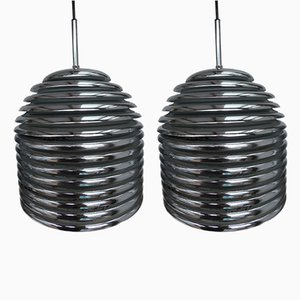 Aureola Ceiling Lamps by Kazuo Motozawa for Staff, 1972, Set of 2
