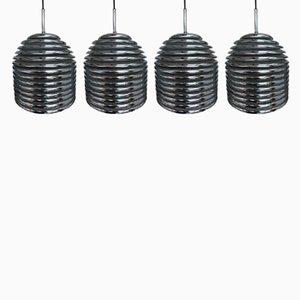 Aureola Deckenlampen von Kazuo Motozawa für Staff, 1972, 4er Set