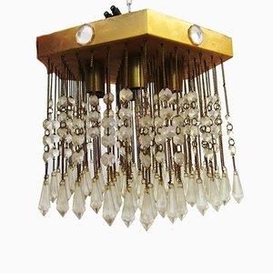Vintage Strass Kaskadenlampe
