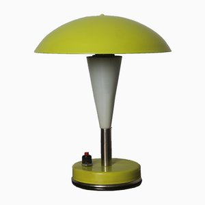 Chartreuse Desk Lamp from Zans, 1960s