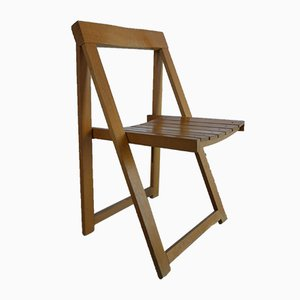 Folding Chair by Aldo Jacober for Alberto Bazzani, 1960s