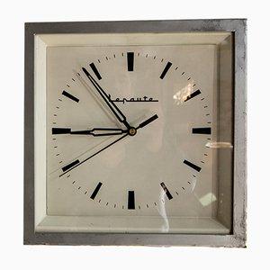 Orologio industriale double face di Lepaute, anni '60