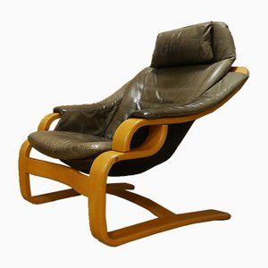Danish Lounge Chair from Skipper, 1970s