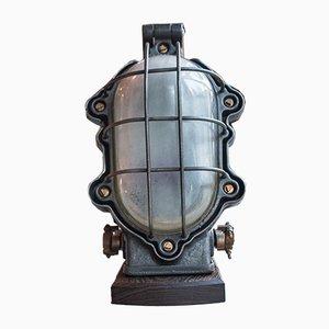 Explosionsgeschützte industrielle Wandlampe von Perfeclair, 1951