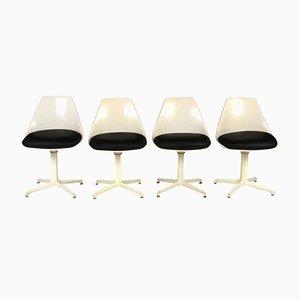 Amerikanische Mid-Century Esszimmerstühle, 1960er, 4er Set