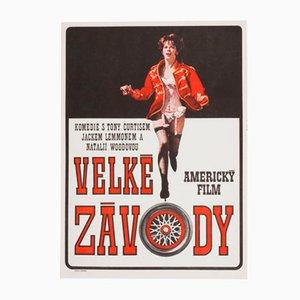 Poster cinematografico di Dobroslav Foll, Cecoslovacchia, 1967
