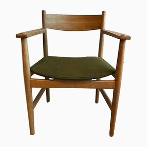 Mid-Century Armlehnstuhl von Hans J. Wegner für Getama