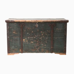 Antique Floral Trunk, 1877