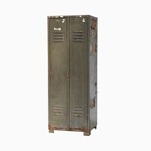 Vintage Iron Locker
