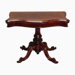 Tavolo da gioco o di servizio vittoriano in palissandro, metà XIX secolo