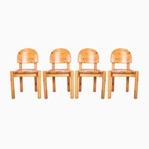 Mid-Century Chairs by Rainer Daumiller for Hirtshalls Sawmills, 1970s, Set of 4