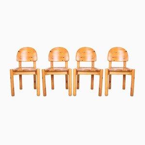 Mid-Century Stühle von Rainer Daumiller für Hirtshalls Sawmills, 1970er, 4er Set