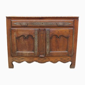 Buffet antico in stile direttorio in legno di castagno