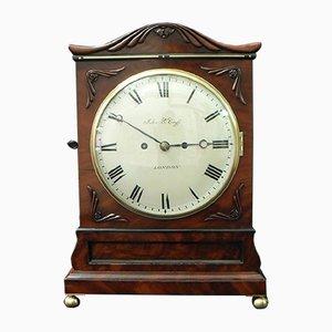 Horloge William IV en Acajou de John Berryhill Cross, 1835