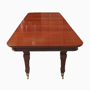 Victorian Mahogany Extending Dining Table from Gillows, 1880s