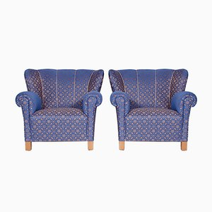 Vintage Czech Club Armchairs, 1930s, Set of 2