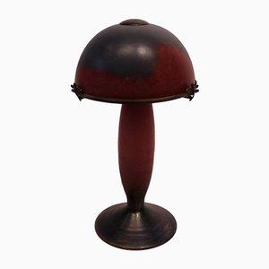 Lampe de Bureau avec Libellules de Le Verre Français, 1920