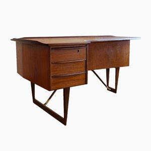 Mid-Century Schreibtisch in Bumerang-Optik von Peter Løvig Nielsen für Hedensted Mobelfabrik, 1960er