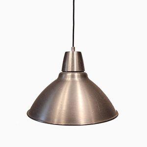 Lámpara de techo de taller de aluminio, años 70