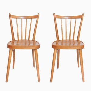 Vintage Dining Chairs from TON, 1950s, Set of 2