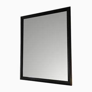 Antique Mirror with Black Frame