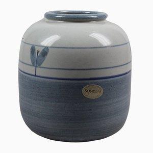 Vaso vintage in ceramica di Maria Philippi per Søholm