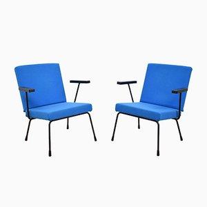 Modell 1401 Sessel von Wim Rietveld für Gispen, 1954, 2er Set