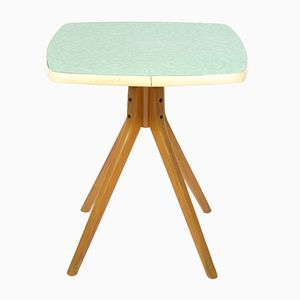 Mesa de centro vintage cuadrada de formica