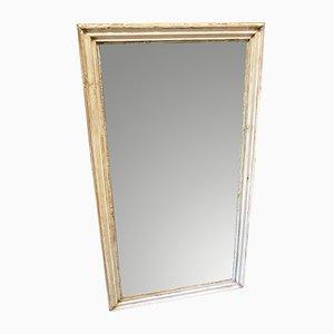 Espejo lacado en marfil del siglo XIX