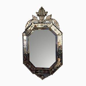 Octagonal Venetian Style Mirror, 1920s