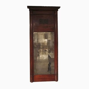 Antique Mahogany Pier Mirror
