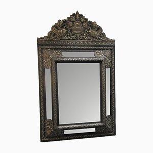 Espejo holandés estilo barroco Repoussé