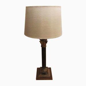 Antique Column Table Lamp