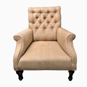 Großer viktorianischer Sessel