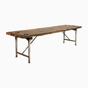 Grande Table Industrielle Vintage