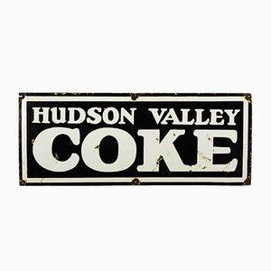 Insegna Hudson Valley Coke vintage