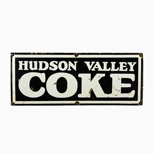 Vintage Hudson Valley Coke Schild