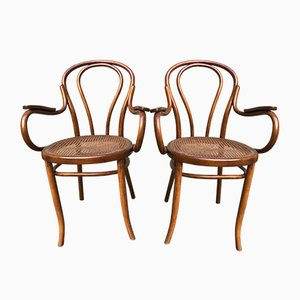 Austrian Dining Chairs from Mundus, 1920s, Set of 2