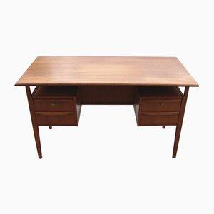 Vintage Schreibtisch aus Teak von Omann Jun, 1960er