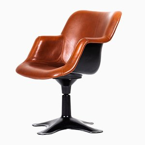 Vintage Swivel Chair by Yrjo Kukkapuro for Haimi, 1960s