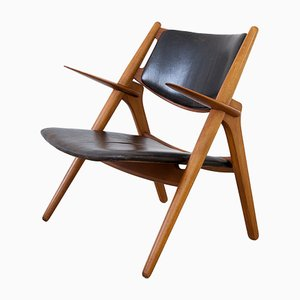 Mid-Century Model CH28 Chair by Hans J. Wegner for Carl Hansen & Søn