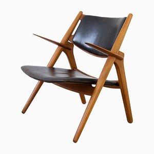 Sedia CH28 Mid-Century di Hans J. Wegner per Carl Hansen & Søn