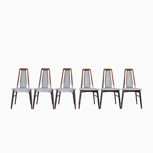 Dining Chairs by Niels Koefoed for Koefoeds Mobelfabrik, 1960s, Set of 6