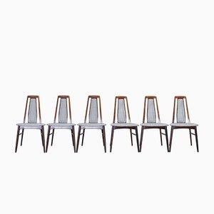 Esszimmerstühle von Niels Koefoed für Koefoeds Mobelfabrik, 1960er, 6er Set