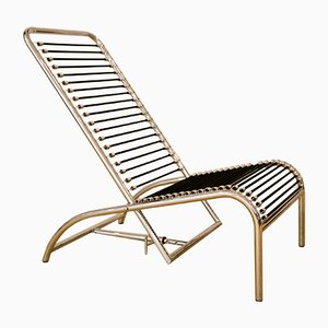 Sandows Lounge Chair by René Herbst for Ecart International, 1980s