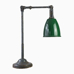 Lámpara de escritorio de maquinista de Dugdills, años 30