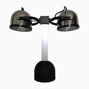 Lampada da tavolo Sistema Trepiù 1428 di Gae Aulenti per Stilnovo, 1972
